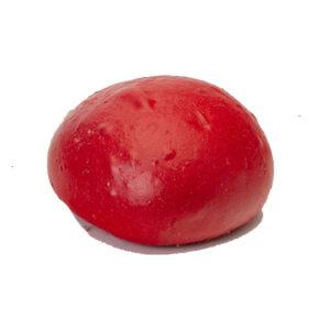 VERY RED PORTUGUESE BUNS 4″ w GLAZE