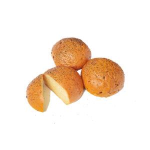 4inch Onion Burger bun w poppy seeds